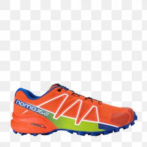 Sports Running Shoes - Salomon Group Shoe Trail Running Blue PNG