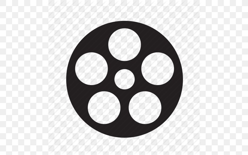 Film Reel Film Reel Clip Art, PNG, 512x512px, Reel, Black, Black And White, Cinema, Film Download Free