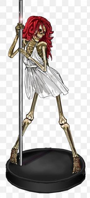 Steel Skeleton Dancers Pictures - Pole Dance PNG