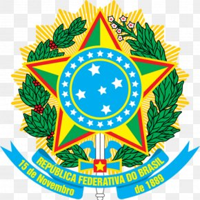 Coat Of Arms Of Brazil Brazilian Heraldry National Emblem PNG