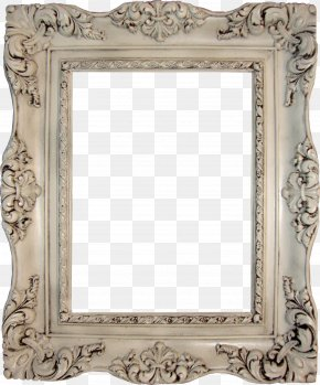 Vintage Frame Photo - Picture Frame Antique Vintage Clothing Table Mirror PNG