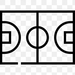 Cartoon Basketball Court - Basketball Court Sport Football Pitch PNG
