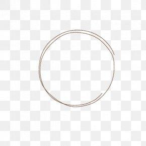 Simple Circle - Bangle Silver Material Circle PNG