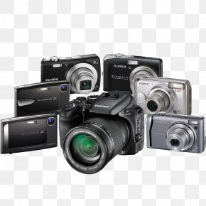 Digital Cameras - Digital Camera Single-lens Reflex Camera PNG