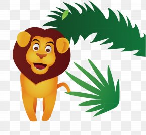 Cartoon Lion - Lion Cartoon Animal Clip Art PNG