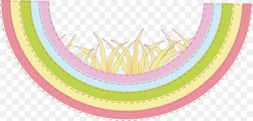 Rainbow Euclidean Vector Drawing, PNG, 1020x490px, Rainbow, Animation, Arc, Cartoon, Designer Download Free