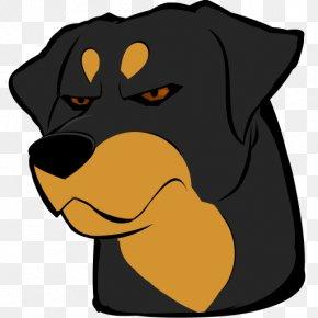 Puppy - Rottweiler German Shepherd Pit Bull Bloodhound Puppy PNG