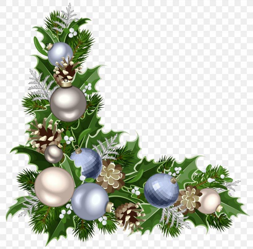 Christmas Decoration Christmas Ornament Santa Claus, PNG, 3096x3054px, Christmas Decoration, Advent, Branch, Christmas, Christmas Lights Download Free