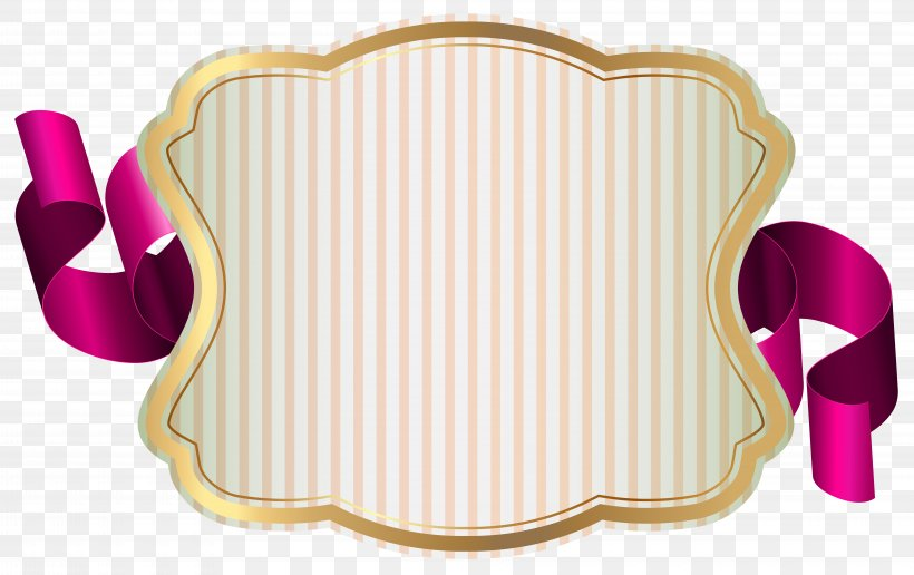 Label With Ribbon Clip Art, PNG, 8000x5038px, Ribbon, Balloon, Chair, Furniture, Label Download Free