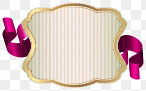 Label With Ribbon Clip Art Image - Label With Ribbon Clip Art PNG