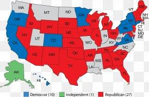 East Coast Of The United States - Washington Southern United States Midwestern United States Map Northeastern United States PNG
