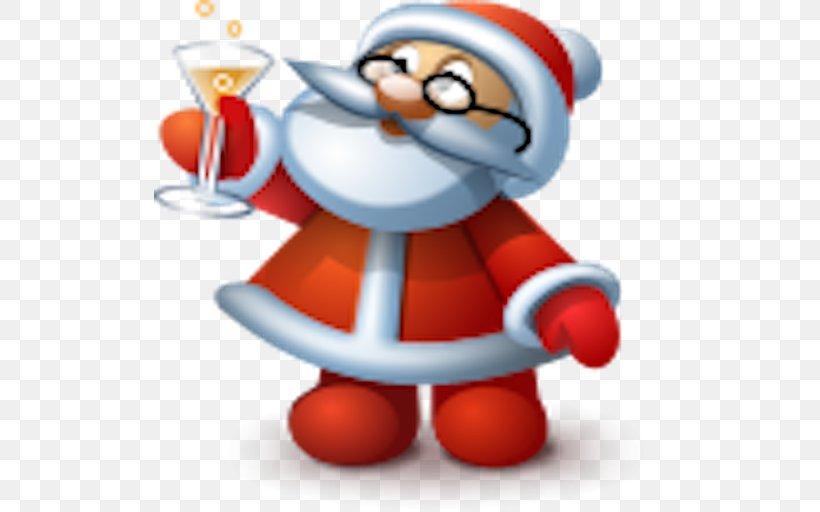 Santa Claus, PNG, 512x512px, Santa Claus, Cartoon, Christmas, Christmas Gift, Christmas Ornament Download Free