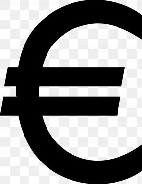 Euro Sign - Euro Sign Currency Symbol Clip Art PNG