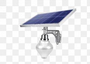 Apple Lamps - Lighting Solar Street Light Light Fixture PNG