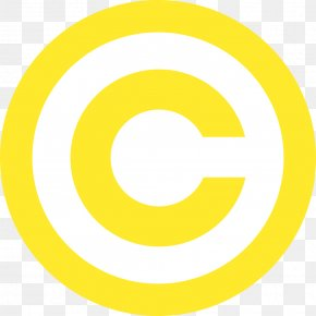 YELLOW - Copyright Law Of The United States Public Domain Copyright Symbol Copyright Notice PNG