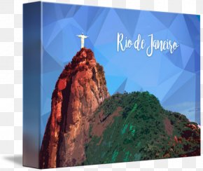 Christ The Redeemer Corcovado Statue Canvas Print Mountain PNG