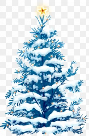 Snow Christmas Tree - Christmas Tree New Year Gift Wallpaper PNG