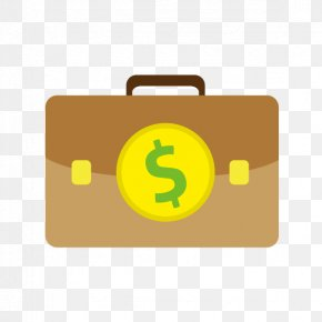 Vector Hand-painted Money Bag - Euclidean Vector Bag Icon PNG