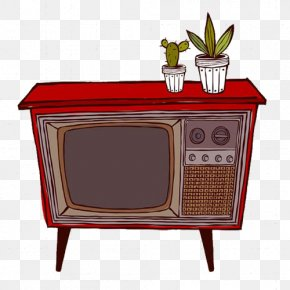 Time Memory Retro Old TV - Template Wallpaper PNG