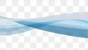 Vector Blue Dynamic Wave Texture - Blue Sky Pattern PNG