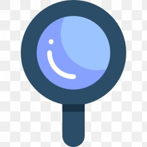 Blue Magnifying Glass - Magnifying Glass Blue PNG
