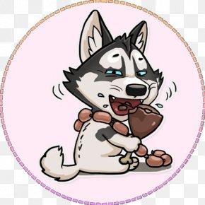 Puppy - Siberian Husky Puppy Dog Breed Sticker Clip Art PNG