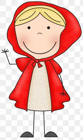 Little Red Cliparts - Big Bad Wolf Goldilocks And The Three Bears Little Red Riding Hood Clip Art PNG