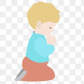Child Praying Clipart - Praying Hands Child Prayer Clip Art PNG
