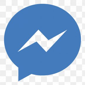 Facebook Application Cliparts - Facebook Messenger Logo Icon PNG