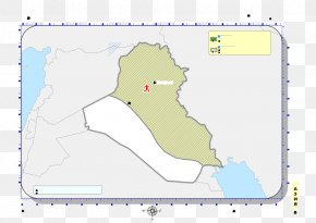 Iraq - Line Map Land Lot Point Angle PNG