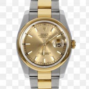 Oyster - Rolex Datejust Watch Luneta Bracelet PNG