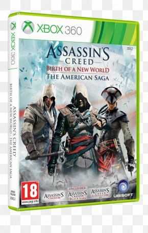 Assassin's Creed: The Americas Collection Assassin's Creed III: Liberation Assassin's Creed IV: Black Flag PNG