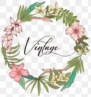 Hand-painted Floral Design - Flower Floral Design PNG