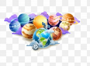 Planet Earth Vector Material - Planet Euclidean Vector Drawing Illustration PNG