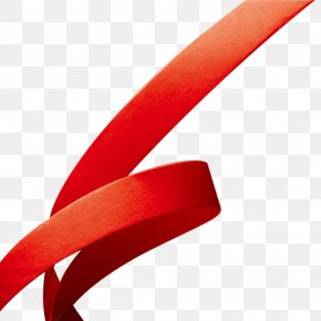 Red Cloth Belt,ribbon,festival,Festive - Red Font PNG