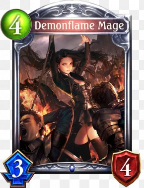Demon Portal - Magic: The Gathering Shadowverse: Wonderland Dreams Playing Card Video Game PNG