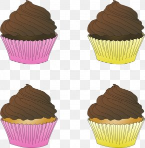 Chocolate Cake - Cupcake Frosting & Icing Muffin Ganache Chocolate Cake PNG