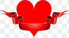 Love Heart - Red Clip Art Heart Love PNG