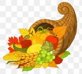 Thanksgiving Cornucopia - Cornucopia Thanksgiving Clip Art PNG