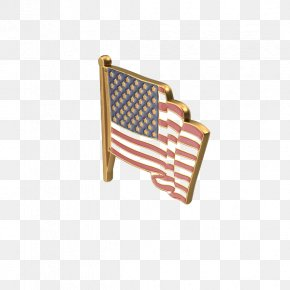 American Flag Badge - Flag Of The United States PNG