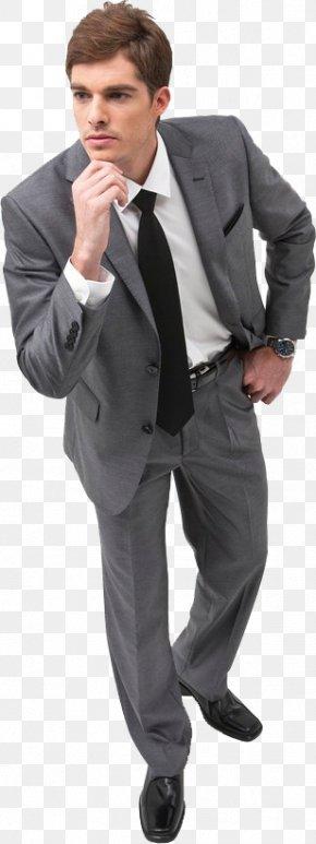 A Man In A Suit - Suit Man Designer PNG