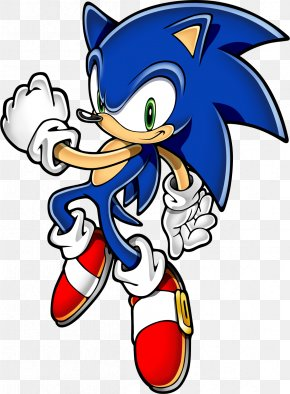 Sonic - Clip Art Sonic The Hedgehog Vector Graphics Work Of Art PNG