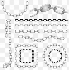 Metal Chain Vector - Chain Metal Stock Illustration Clip Art PNG