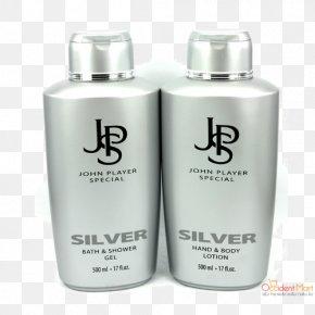 Perfume - John Player Special Men's Fragrances Silver Geschenkset Bath & Shower Gel 500 Ml + Hand & Bodylotion 500 Ml + Deo Roll-On 50 Ml 1 Stk. Perfume JPS PNG
