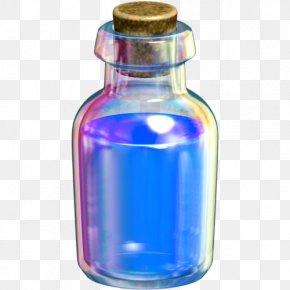 Bottle - Water Bottles The Legend Of Zelda: Breath Of The Wild Glass Bottle PNG