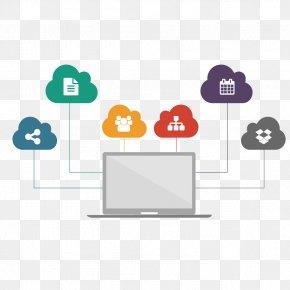 Vector Cloud Computing Ppt Material - Cloud Computing Download Euclidean Vector Data PNG