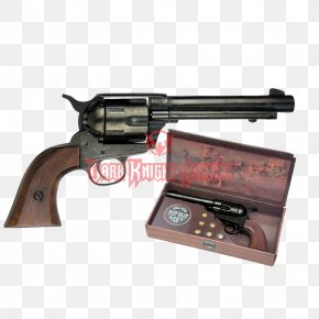 Weapon - American Frontier Colt Single Action Army Cap Gun Revolver Firearm PNG