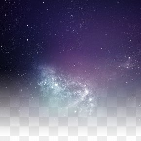 Brilliant Stars In The Night Sky - Icon PNG