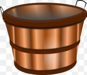Bucket Transparent - Apple Basket Clip Art PNG