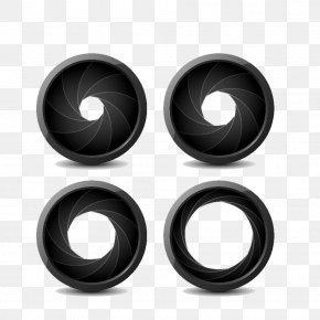 Lens Ring - Camera Lens Photography Aperture Illustration PNG